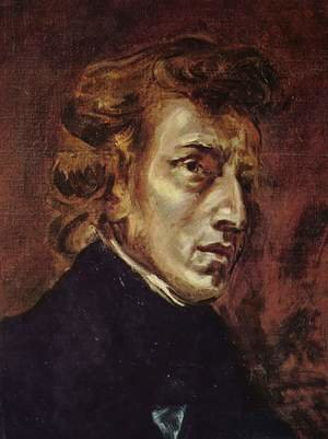Romanticism painting reproductions: Frédéric Chopin 1838