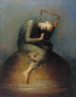 Reproduction oil paintings - George Frederick Watts - Hope