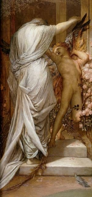 Pre-Raphaelites painting reproductions: Love And Death