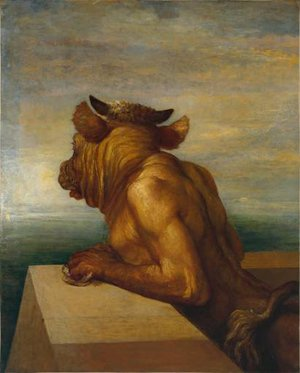 Pre-Raphaelites painting reproductions: The Minotaur