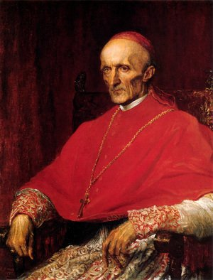 Pre-Raphaelites painting reproductions: Cardinal Manning