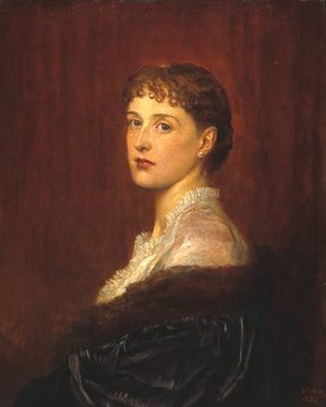 Pre-Raphaelites painting reproductions: Mrs Arthur Sassoon
