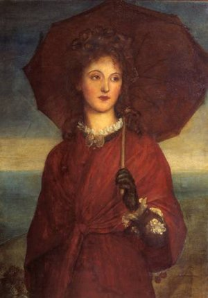 Pre-Raphaelites painting reproductions: Eveleen Tennant  Later Mrs F W H  Myers