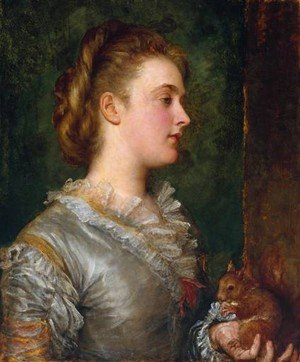 Pre-Raphaelites painting reproductions: Dorothy Tennant  Later Lady Stanley