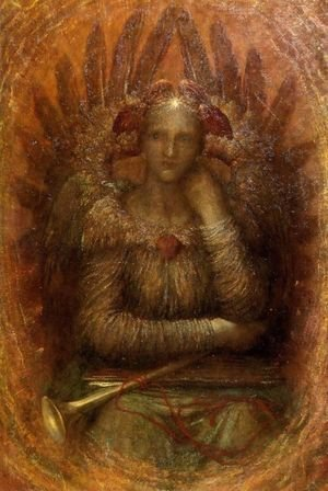 Pre-Raphaelites painting reproductions: Dweller in the Innermost 1885-86