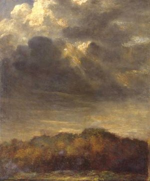 Pre-Raphaelites painting reproductions: Study Of Clouds