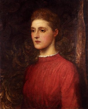 Pre-Raphaelites painting reproductions: Portrait Of A Lady