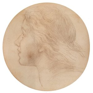 Pre-Raphaelites painting reproductions: Portrait Of Ellen Terry