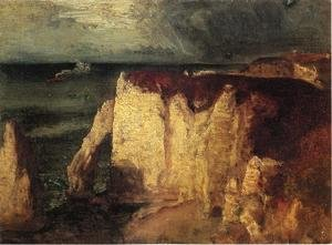 Reproduction oil paintings - George Inness - Etretat