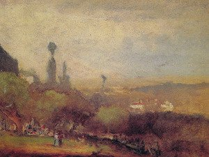 Reproduction oil paintings - George Inness - Monte Lucia  Perugia