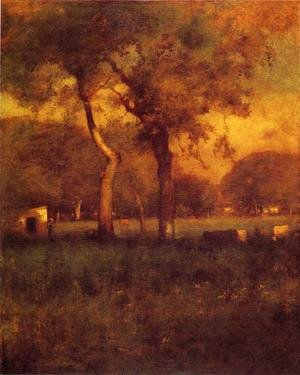 Reproduction oil paintings - George Inness - California