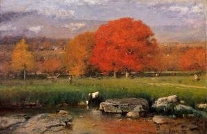 Reproduction oil paintings - George Inness - Morning  Catskill Valley