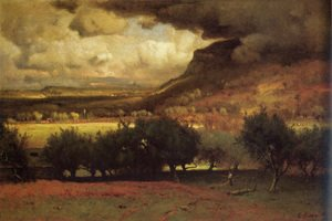 Reproduction oil paintings - George Inness - The Coming Storm