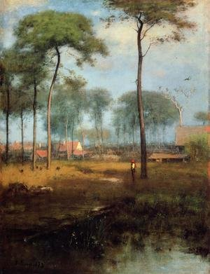 Reproduction oil paintings - George Inness - Early Morning  Tarpon Springs