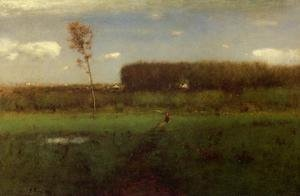 Reproduction oil paintings - George Inness - October Noon