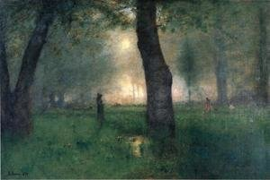 Reproduction oil paintings - George Inness - The Trout Brook