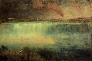 Reproduction oil paintings - George Inness - Niagara