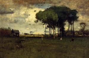 Reproduction oil paintings - George Inness - Georgia Pines   Afternoon