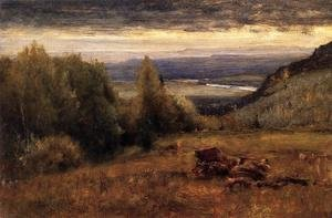 Reproduction oil paintings - George Inness - From The Sawangunk Mountains