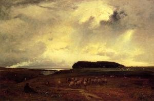 Reproduction oil paintings - George Inness - The Storm