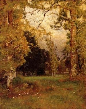Reproduction oil paintings - George Inness - Late Afternoon