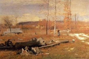 Reproduction oil paintings - George Inness - Winter Morning  Montclair