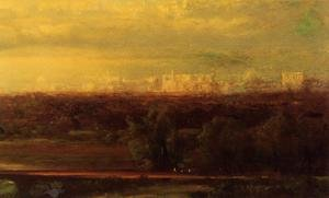 Reproduction oil paintings - George Inness - Visionary Landscape