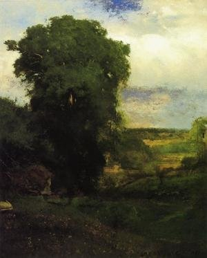 Reproduction oil paintings - George Inness - Midsummer