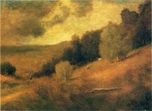Reproduction oil paintings - George Inness - Stormy Day