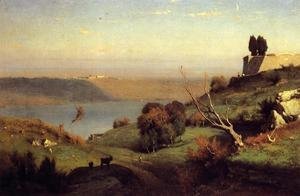 Reproduction oil paintings - George Inness - Castel Gandolfo