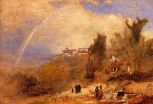 Reproduction oil paintings - George Inness - Near Perugia