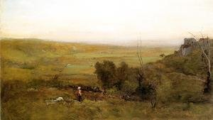 Reproduction oil paintings - George Inness - The Valley