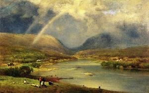 Reproduction oil paintings - George Inness - The Delaware Water Gap