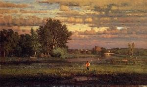 George Inness reproductions - Clearing Up