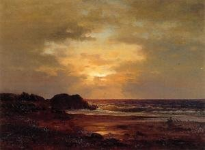 Reproduction oil paintings - George Inness - Coast Scene