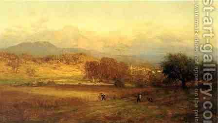Autumn by George Inness - Reproduction Oil Painting