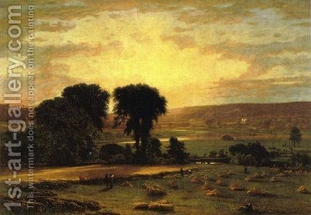 Peace And Plenty by George Inness - Reproduction Oil Painting