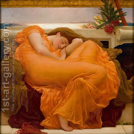 Flaming june painting analysis essay
