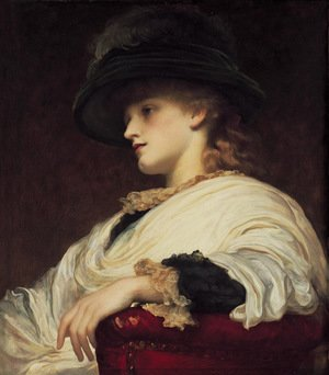 Reproduction oil paintings - Lord Frederick Leighton - Phoebe