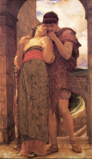 Reproduction oil paintings - Lord Frederick Leighton - Wedded
