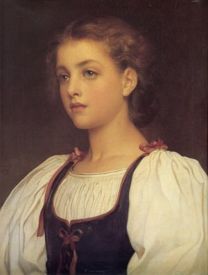 Reproduction oil paintings - Lord Frederick Leighton - Biondina