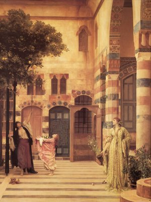 Reproduction oil paintings - Lord Frederick Leighton - Old Damascus  Jew's Quarter