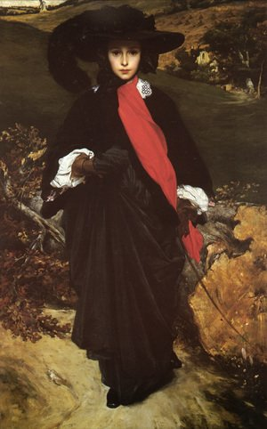 Reproduction oil paintings - Lord Frederick Leighton - May Sartoris