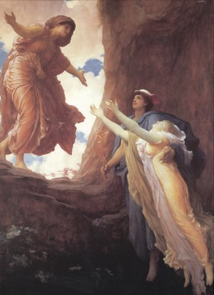 Reproduction oil paintings - Lord Frederick Leighton - Return Of Persephone