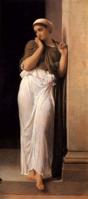 Reproduction oil paintings - Lord Frederick Leighton - Nausicaa