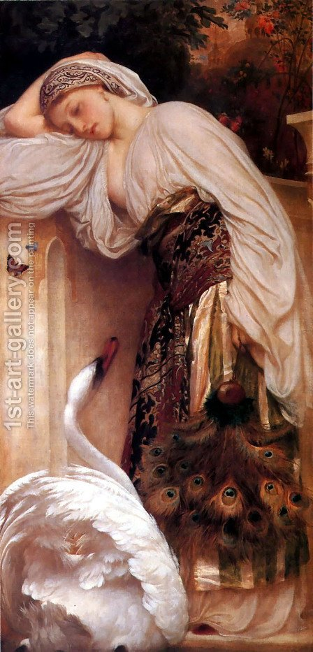 Odalisque by Lord Frederick Leighton - Reproduction Oil Painting