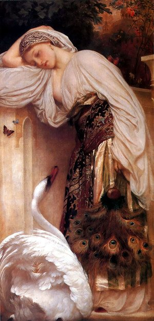 Reproduction oil paintings - Lord Frederick Leighton - Odalisque