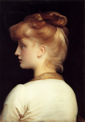Reproduction oil paintings - Lord Frederick Leighton - A Girl