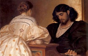 Reproduction oil paintings - Lord Frederick Leighton - The Golden Hours
