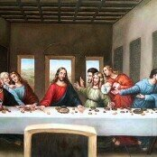 Oil painting reproductions - Renaissance - High - Leonardo Da Vinci: The Last Supper 1498